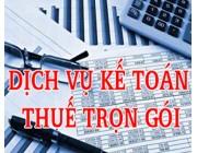 Dịch vụ làm kế toán thuế trọn gói