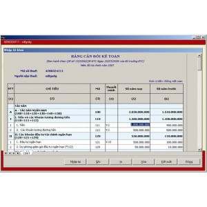 Chỉ dẫn cách lập bảng cân đối kế toán