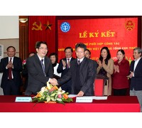Bảo Hiểm Xã Hội và Tổng Cục Thuế ký kết quy chế phối hợp công tác